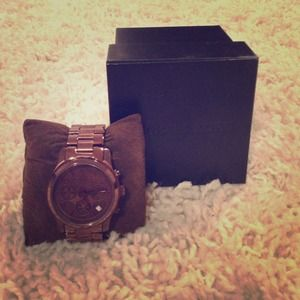 Michael Kors chocolate watch