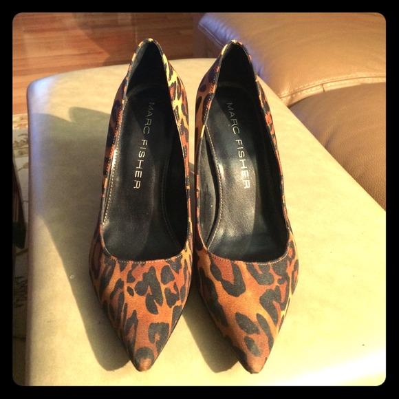 Marc Fisher Shoes | Leopard Pumps