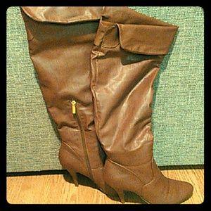 JustFab boots 8