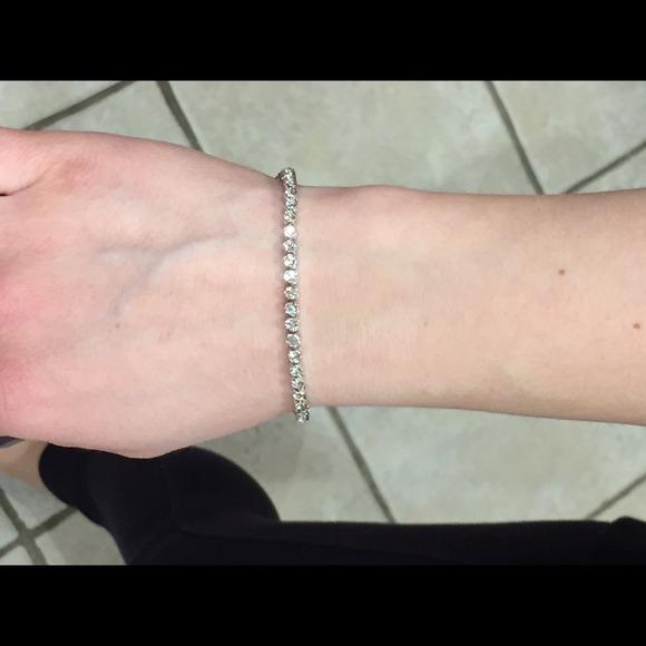 Swarovski Emily tennis bracelet