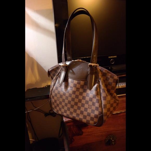 dcb9a3d638 Louis Vuitton Verona MM in Damier Ebène canvas bag.  M_54a21b054a581e2e9002f341