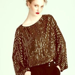 Rachel Zoe Sequin Top