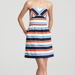 Vineyard Vines Dresses & Skirts - Vineyard Vines Curtain Bluff Strapless Dress