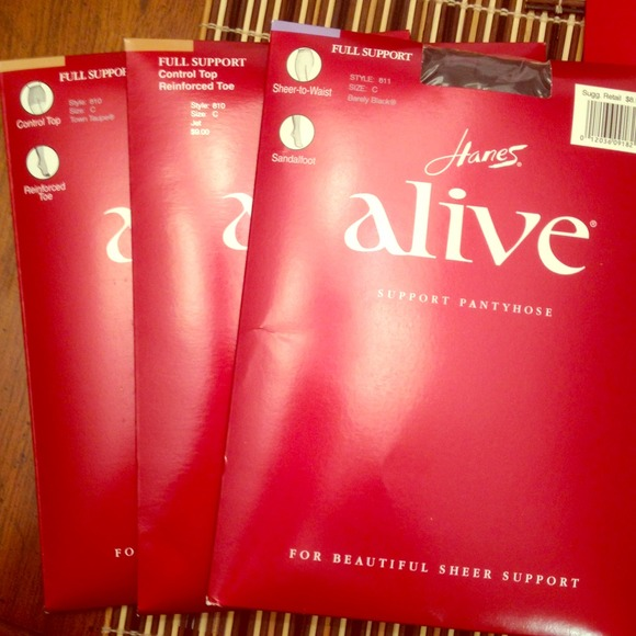 Hanes alive support pantyhose — img 3