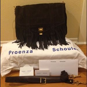 New In Box Proenza Schouler PS1 fringe runner bag