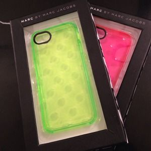Marc by Marc Jacobs Jelly Dot iPhone 5 Case Green