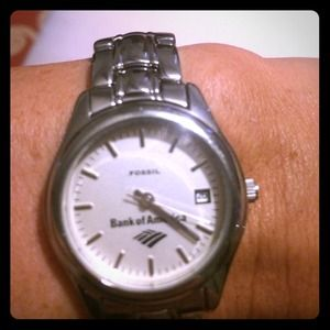 Fossil watch made for Bank of America management