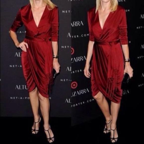 Altuzarra Dresses Sold On Ebay Size 6 Beautiful Silky Dress New