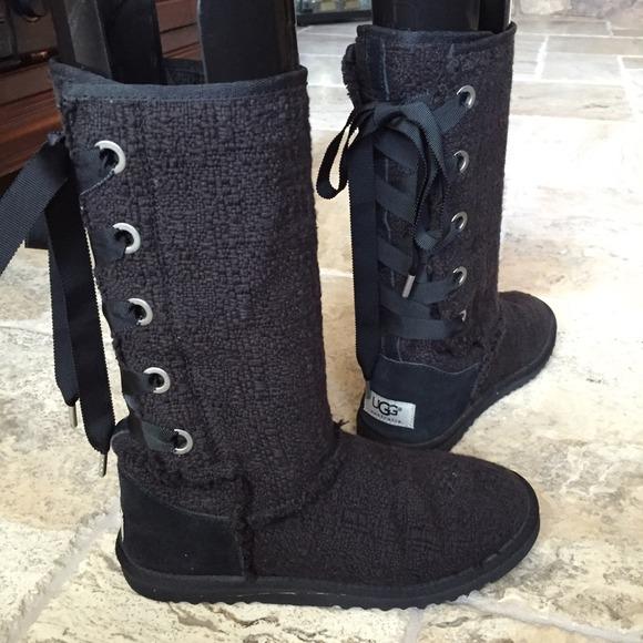 90eabeb6ee8 💖UGG Heirloom Lace Ups Boots