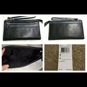 Coach Legacy Colorblock Zippy Wallet/Wristlet