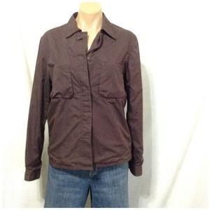 Armani jeans Jackets & Blazers - Armani jeans brown jacket made Italy size 10