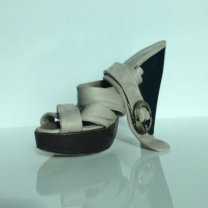 Philosophy Strap Heel Platforms