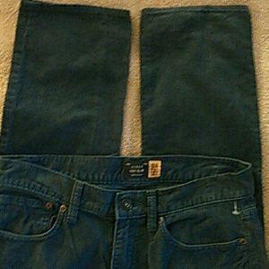 J Crew 484 SLIM Corduroy Pants Size 28/32 for sale