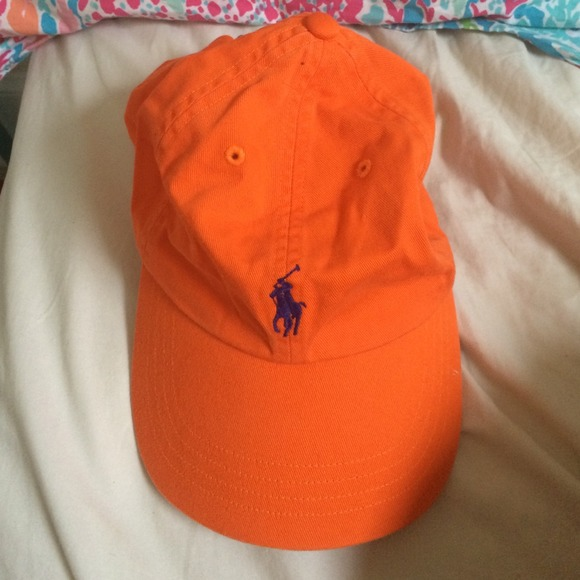 236acb9e Polo by Ralph Lauren Accessories | Orange Polo Hat | Poshmark