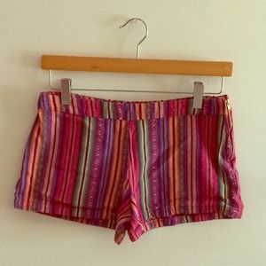Free People Denim - Colorful Tribal shorts