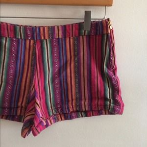 Free People Jeans - Colorful Tribal shorts