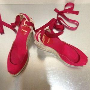 Christian Louboutin Shoes - Christian Loubutin platform. Discounted