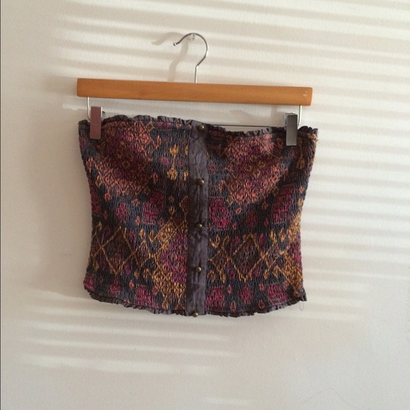 Urban Outfitters Tops - Tribal strapless shirt
