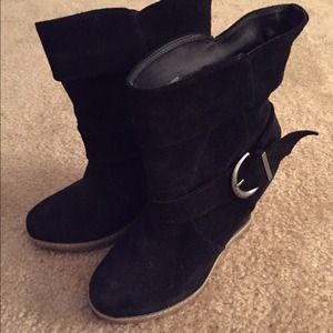 Kelsi Dagger Suede Boots Size 7