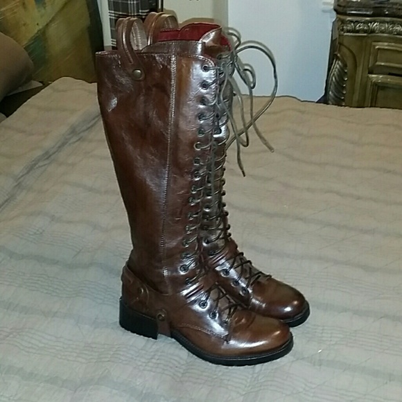 Progetto Boots From Poshmark Leather Shoes Progetto Politix Glam HxqSWOU7w7