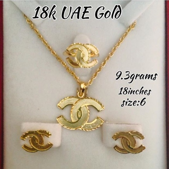 off Jewelry 18k SOLID YELLOW GOLD SET 🌹PRE ORDER🌹 from