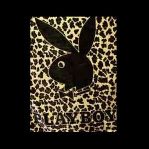 Official Playboy bunny cheetah print blanket ‼️