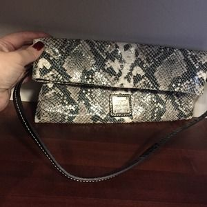 Dooney and Bourke snake clutch