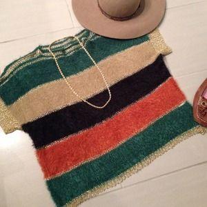 Striped Funky Sweater