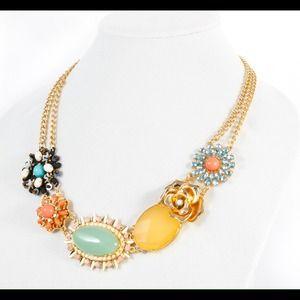 Florals & Fun Statement Necklace