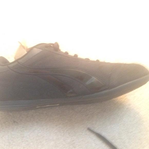 Black Tennis Shoes By U S Polo Assoc Size B