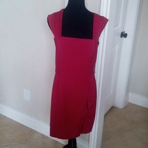 Sexy sheath dress- rouge- size 10