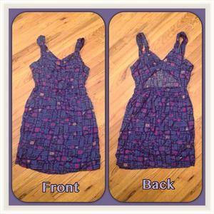 Dresses & Skirts - Blue Sexy Back Dress