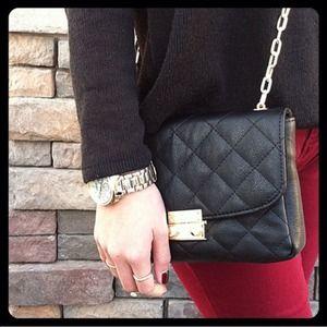 SALE  NWOT Black Quilted Bag