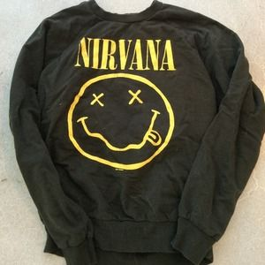 Chaser Sweaters - nirvana sweatshirt by chaser