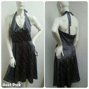 La Belle Dresses & Skirts - Polka Dot Halter Dress