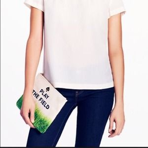 Kate Spade Call to Action Gia Clutch