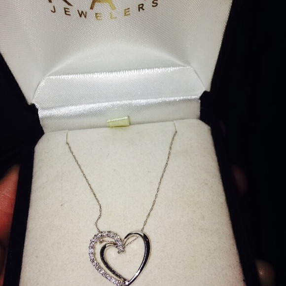 Kay Jewelers Jewelry 10k White Gold Necklace Poshmark
