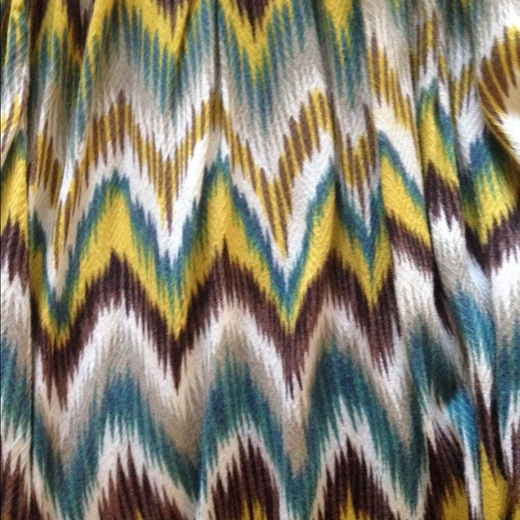 80 off dresses amp skirts colorful chevron tube dress