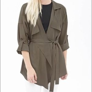Forever 21 lightweight trench coat