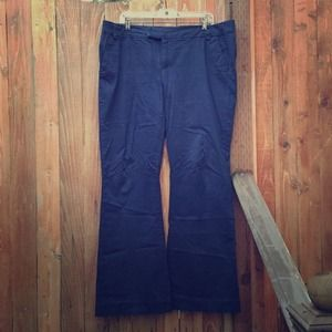 American Eagle Outfitters Pants - ⬇️ Navy Blue Trousers