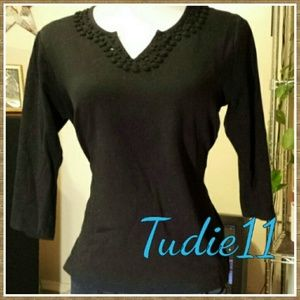 Quacker Factory Tops - Black top
