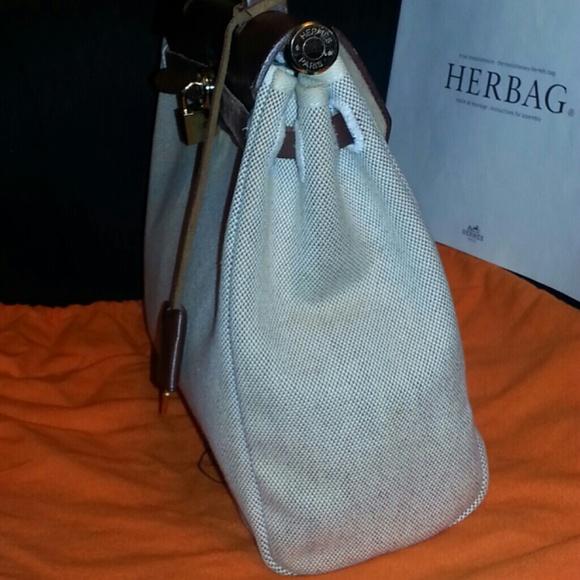 71% off Hermes Handbags - ¡î¡ïSOLD¡ï¡î Auth HERMES HERBAG + Spare ...