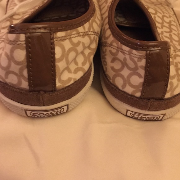 82 coach shoes coach shoes brown and white from