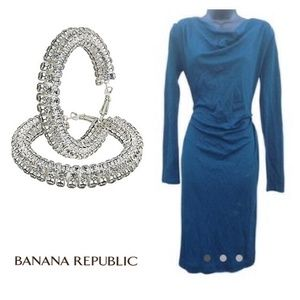 Banana Republic Ruche Dress