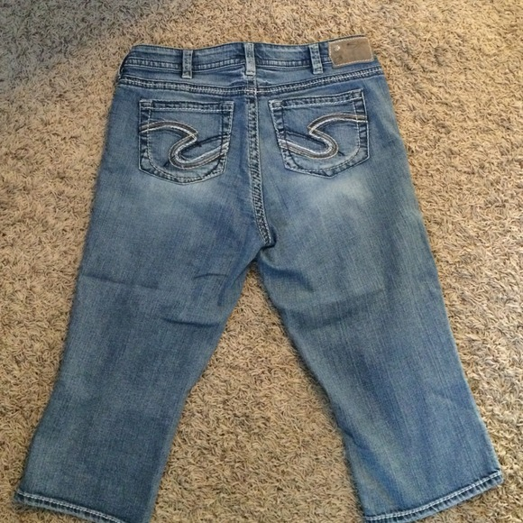 77% off Silver Jeans Denim - Silver jeans crop capris size 14 from ...