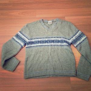 Fairisle sweater, petite