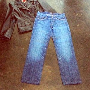 7FAM Diamond Pocket Jeans