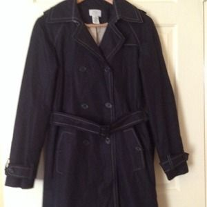 LOFT Double-breasted trench coat