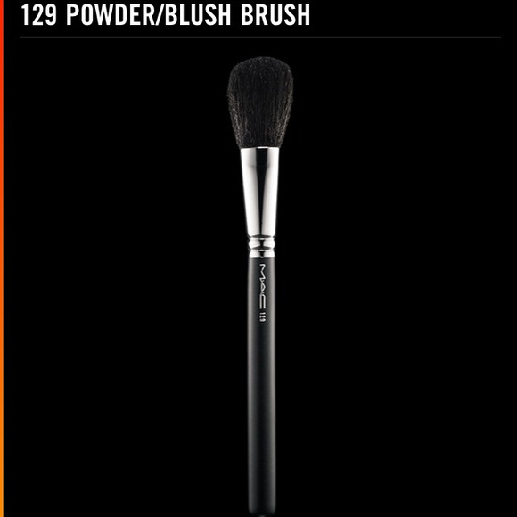 Mac 129 Brush For Powder