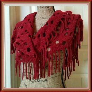 ❤HOST PICK❤ Ravishing red infinity scarf